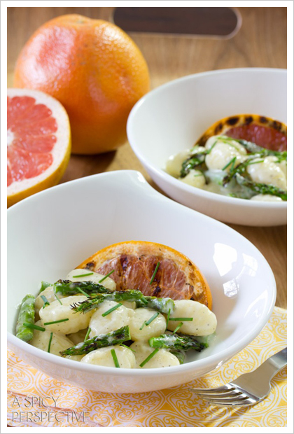 Grapefruit-Gnocchi