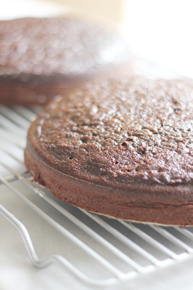 Chocolate Cake With Fleur De Sel Caramel Filling Recipes ...