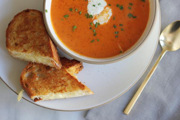 Creamy Tomato And Cream Cheese Soup Recipe — Dishmaps